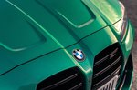 BMW M3 2021 bonnet badge