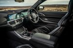 BMW M4 2021 RHD dashboard