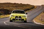 BMW M4 2021 front cornering