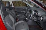 MG 3 2021 front seats