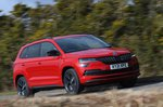 Skoda Karoq 2021 right tracking