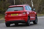 Skoda Karoq 2021 rear cornering