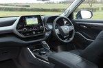 Toyota Highlander 2021 front seats