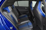 Volkswagen Golf R 2021 rear seats