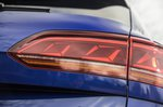 Volkswagen Touareg R 2021 rear lights detail