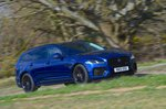 Jaguar XF Sportbrake 2021 right tracking