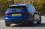 Jaguar XF Sportbrake 2021 rear cornering