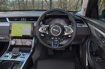 Jaguar XF Sportbrake 2021 dashboard