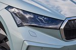 Skoda Enyaq 2021 headlight detail