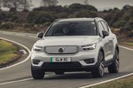 Volvo XC40 Recharge Pure Electric 2021 front tracking