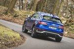 Audi Q5 Sportback 2021 rear cornering