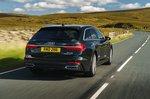 Audi A6 Avant 2021 rear tracking
