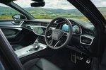 Audi A6 Avant 2021 front seats