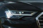 Audi A6 Avant 2021 headlight detail