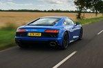 Audi R8 2021 rear tracking