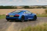 Audi R8 2021 rear cornering
