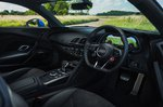 Audi R8 2021 interior dashboard