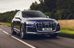 Audi SQ7 2021 front tracking