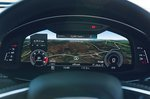 Audi SQ7 2021 driver display