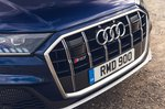 Audi SQ7 2021 grille detail
