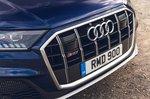 Audi SQ7 2021 grille detail