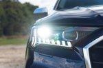 Audi SQ7 2021 headlight detail