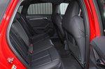 Audi A3 40 TFSIe 2021 rear seats