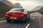 Bentley Flying Spur 2021 rear tracking