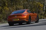 Bentley Continental GT 2021 rear cornering