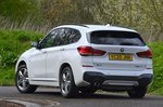BMW X1 2021 rear cornering