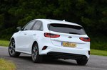 Kia Ceed 2021 rear cornering