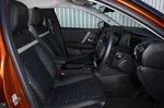 Citroen C4 2021 front seats