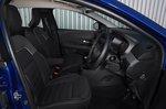Dacia Sandero 2021 RHD front seats