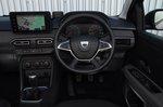 Dacia Sandero 2021 RHD dashboard