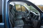Ford Transit Custom Trail 2021 interior front seats