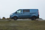 Ford Transit Custom Trail 2021 front left tracking
