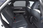 Lexus RX450h 2021 interior rear seats