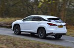 Lexus RX450h 2021 rear left tracking