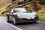 Porsche 911 2022 front tracking
