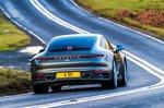 Porsche 911 2022 rear cornering