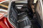 Porsche Taycan Cross Turismo 2021 interior rear seats