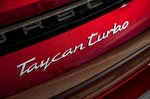 Porsche Taycan Cross Turismo 2021 badge detail