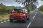 Toyota C-HR 2021 rear tracking