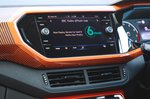 Volkswagen T-Cross 2021 infotainment