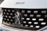 Peugeot 508 SW 2021 grille detail