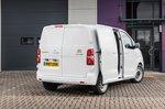 Citroën Dispatch 2021 side doors open