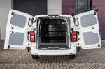 Citroën Dispatch 2021 rear doors open