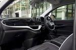 Fiat 500e 2021 interior front seats