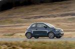Fiat 500e 2021 right tracking