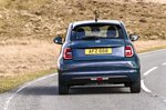 Fiat 500e 2021 rear tracking